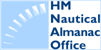 Link to HM Nautical Almanac Office